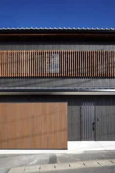 建築写真|和風|外観|縦格子|Architectural photography|Japanese-style|Facade|Lattice