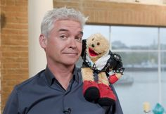 Popular TV rodent Gordon the Gopher has stunned the world today after coming out as gay and confirming that his friend Phillip Schofield had a. Phillip Schofield, 90s Party, 50 Shades Of Grey, My Prince, Coming Out, Puppets, Funny Jokes, Beautiful People, The Past