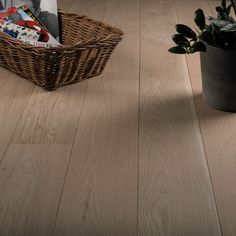 Can get unfinished engineered wood flooring to paint or stain