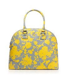 Printed Robinson Dome Satchel