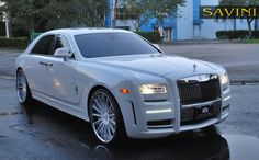 Rolls Royce Ghost SV34-C 24X9.5 >> by Saintrop.com, the Nirvanesque Cote d'Azur..