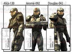 "Halo: Reach Series 06 - ""Spirit of Fire"" Red Team Box Set - Halo: Reach & Universe Box Sets"