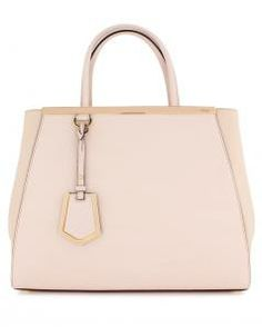 Soft Pink 2Jours Tote Bag by: Fendi