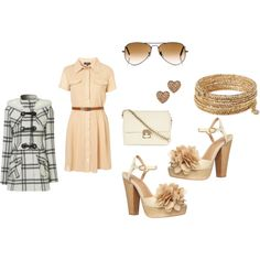 loving this online site Polyvore! I would totally wear this such cute clothes on this site!