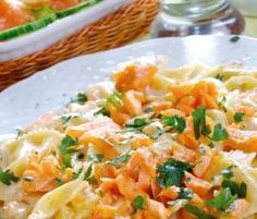 Recipe Butterfly Pasta with Salmon Sauce by Thermomix in Australia - Recipe of category Main dishes - fish