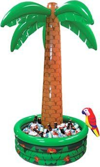 c222bcca41c3b Amscan International Inflatable Cooler Palm Tree Hawaiian: Amazon.co.uk:  Kitchen & Home