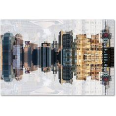 Trademark Fine Art New York Reflection IV Canvas Art by Philippe Hugonnard, Size: 12 x 19, Multicolor