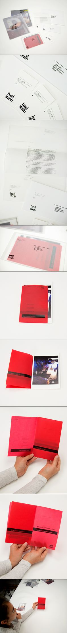 Basel Studio by Liz Barnes, via Behance