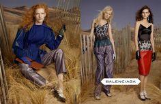 balenciaga 2012 fashion campaign