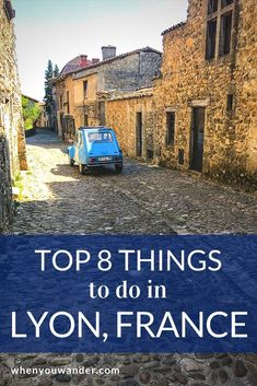 Things to do in Lyon tend to revolve around food and history—two very worthwhile subjects. Belle France, Lyon France, Travel Guides, Travel Tips, Travel Destinations, Budget Travel, Corsica, France Travel, Travel Europe