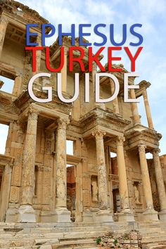 A guide to Ephesus in Turkey. An ancient Greek city and one of the biggest ruins in the middle east. Ephesus Turkey, travel Guide A guide to Ephesus in Turkey. An ancient Greek city and one o Travel Blog, Travel Advice, Travel Guides, Travel Tips, Foodie Travel, Middle East Destinations, Turkey Destinations, Travel Destinations, Middle East Culture