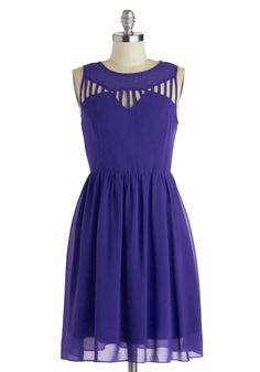 Love the color!!!! Just Be-Gauze Dress, #ModCloth