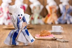 Geschirrtuchköchin - das Ideale Mitbringsel Teddy Bear, Toys, Tablewares, Cooking, Gifts, Activity Toys, Clearance Toys, Teddy Bears, Gaming