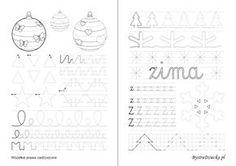 Nauka pisania dla dzieci, z pisane, oraz szlaczki dla dzieci do druku, Anna Kubczak Diagram, Bullet Journal, Education, Words, School, Google, Therapy, Paper, Onderwijs