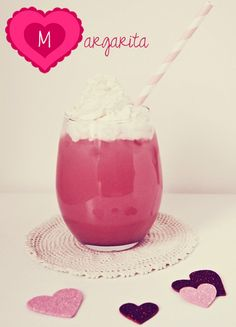 Valentine's Day Margarita...A perfect Valentine's Day drink via susantuttlephotography.com