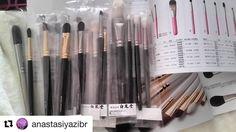 #Repost @anastasiyazibr with @repostapp  Спасибо за такую красоту #fudejapanrussia #fudejapan Они просто не реально красивые и мягкие #кисти #кистидлямакияжа #hakuhodobrushes #hakuhodo #мягкиеипушистые #brushes