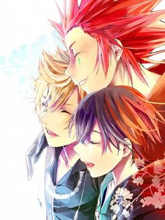 Roxas, Axel, and Xion #OrganizationXIII