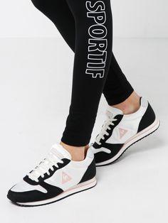 Adidas  mujer Stan Smith zapatillas en cuero negro y plata