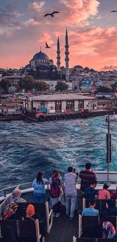 Istanbul City, Different Countries, Mosque, Wonderful Places, Paris Skyline, Places To Visit, Around The Worlds, Urban, Landscape