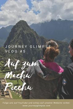 Machu Picchu, die Inka-Ruine übt eine riesige Faszination auf Menschen aus. Auch wir mussten sie besuchen. Seht es euch in unserem Vlog an. Inka, Der Bus, Journey, Machu Picchu, Peru, Youtube, Nature, Movies, Movie Posters