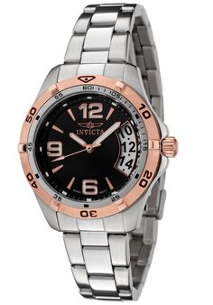 Price:$159.00 #watches Invicta 0090, A great design. This is a perfect timepiece for everyday wear. Provides a dressy look with a sporty feel.