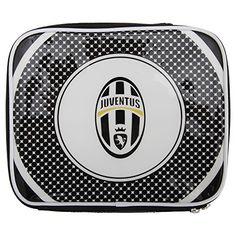 Juventus FC ChildrensKids Official Football Bullseye Lunch Bag One Size BlackWhite -- Want to know more, click on the image.Note:It is affiliate link to Amazon.