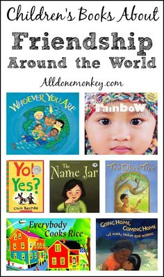 Teach children about unity in diversity with these children's books about friendship around the world | Alldonemonkey.com
