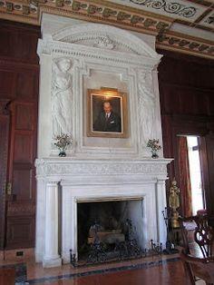Col. Oliver Hazard Payne house dining room, NY