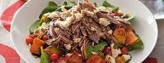 Slow-cooked lamb shoulder with pumpkin and feta salad - TWD Recipe Book