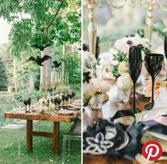Halloween / Autumnal wedding idea