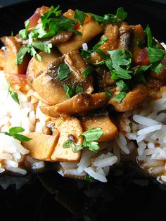 28 Cooks: Mushroom Curry  I know I've mentioned before how m...