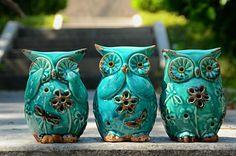 Three Owls, Hear No Evil, See No Evil and Speak No Evil …