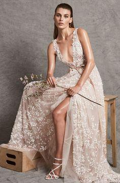 The 11 Prettiest New Wedding Dresses You Need to Pin via @WhoWhatWearUK