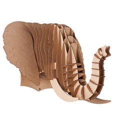 I want !!!!!!  Giant Eyan Elephant Trophy Brown, $160, now featured on Fab.
