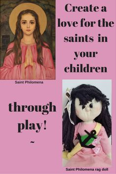 Cute, soft, cuddly.  Fall in love with Saint Philomena!