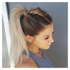 Instagram post by BRAIDS   UPDOS   INSPIRATION • Aug 2, 2016 at 9:41pm... ❤ liked on Polyvore featuring jewelry, earrings, braid jewelry, woven jewelry and woven earrings