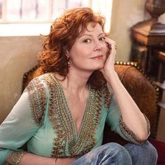 """The Stunning Susan Sarandon: """"Now, as I move through my fifties, I can be professional and domestic, creative and intellectual, patient and urgent. I have learned that we should never settle for someone else's definition of who we can be. Growing to this age, I realize, is kind of like feeling your voice deepen. It's still your voice, but it has more substance, and it sounds like it knows its own origins."""" 
