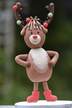 SugarEd Productions Online Classes - Silly Rudolph Topper