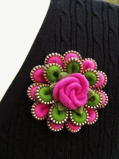 zipper #crafts and creations Ideas| http://craftsandcreationsideas74.blogspot.com