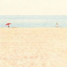 The pencil drawings of Lee Kyutae, aka Kokooma (here on Behance), are very delicate yet they implement a wide color palette. A Korean illustrator and animator, Lee uses a low-detailing technique in order to focus on depictions of mundane environments, such as ordinary landscapes, interiors...
