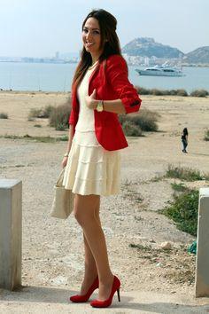 Estilo Stiletto: Red blazer