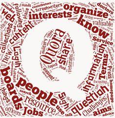 Quora Q Logo. More Quora at http://getonthemap.us/quora/blog #quora