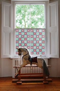 Stained glass effect window film patterns from the Victorian era. Each design can be resized and cut to your exact measurements. Victorian Windows, Victorian Bedroom, Edwardian House, Victorian Interiors, Victorian Cottage, Victorian Homes, Interior Shutters, Window Shutters, Home Decor Items