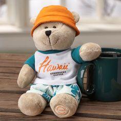 Starbucks® Bearista® Bear - Hawaii Surfer. $9.99 at StarbucksStore.com