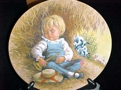 Little Boy Blue collector plates Little Boy Blue, Decorative Plates, Nursery, Baby, Painting, Home Decor, Decoration Home, Room Decor, Baby Room