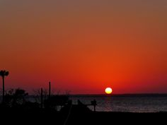 St. Joe Bay with Cape San Blas in background. There are beautiful sunsets everyday at this location.