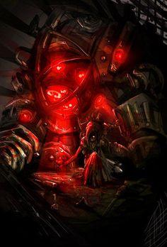 Bioshock rough by JohnDevlin