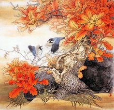 sitella   Японская живопись