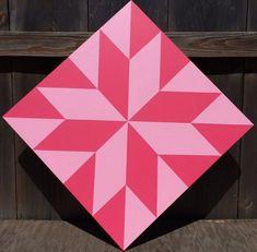 LaMoyne by TwoCraftyLadybugs Barn Quilt Designs, Barn Quilt Patterns, Star Patterns, Pattern Blocks, Quilting Designs, Wood Patterns, Painted Barn Quilts, Barn Art, Star Quilt Blocks