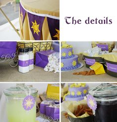 Rapunzel Street Fair Party {Tangled Birthday Party Ideas} via TipJunkie.com